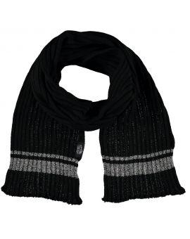 Heren thermo sjaal Zwart