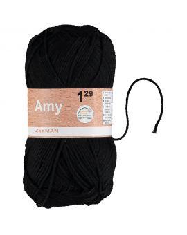 Amy haakgaren Zwart