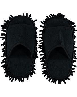 Schoonmaakslippers Zwart