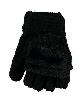 Tiener handschoenen Zwart