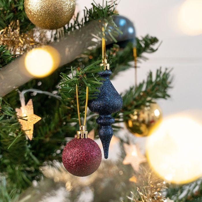 Kerstboom Decoratie Set 51 Delig Rood Kopen Goed Goedkoop Zeeman
