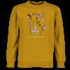 Meisjes sweater Okergeel