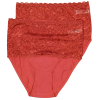 Dames tailleslip Rood