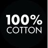 100% Baumwolle